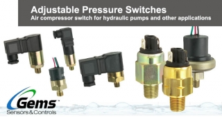 Adjustable Pressure Switches, Gems