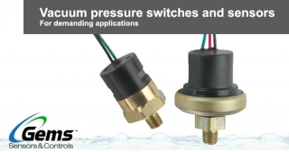 Vacuum pressure switches, Gems