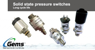 Solid state pressure switches, Gems
