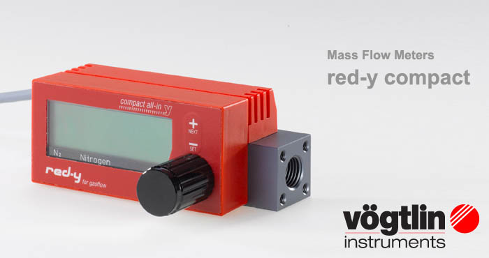 Mass Flow Meters red-y compact Voegtlin
