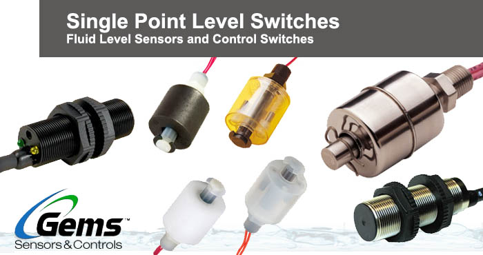Gems single point level switches
