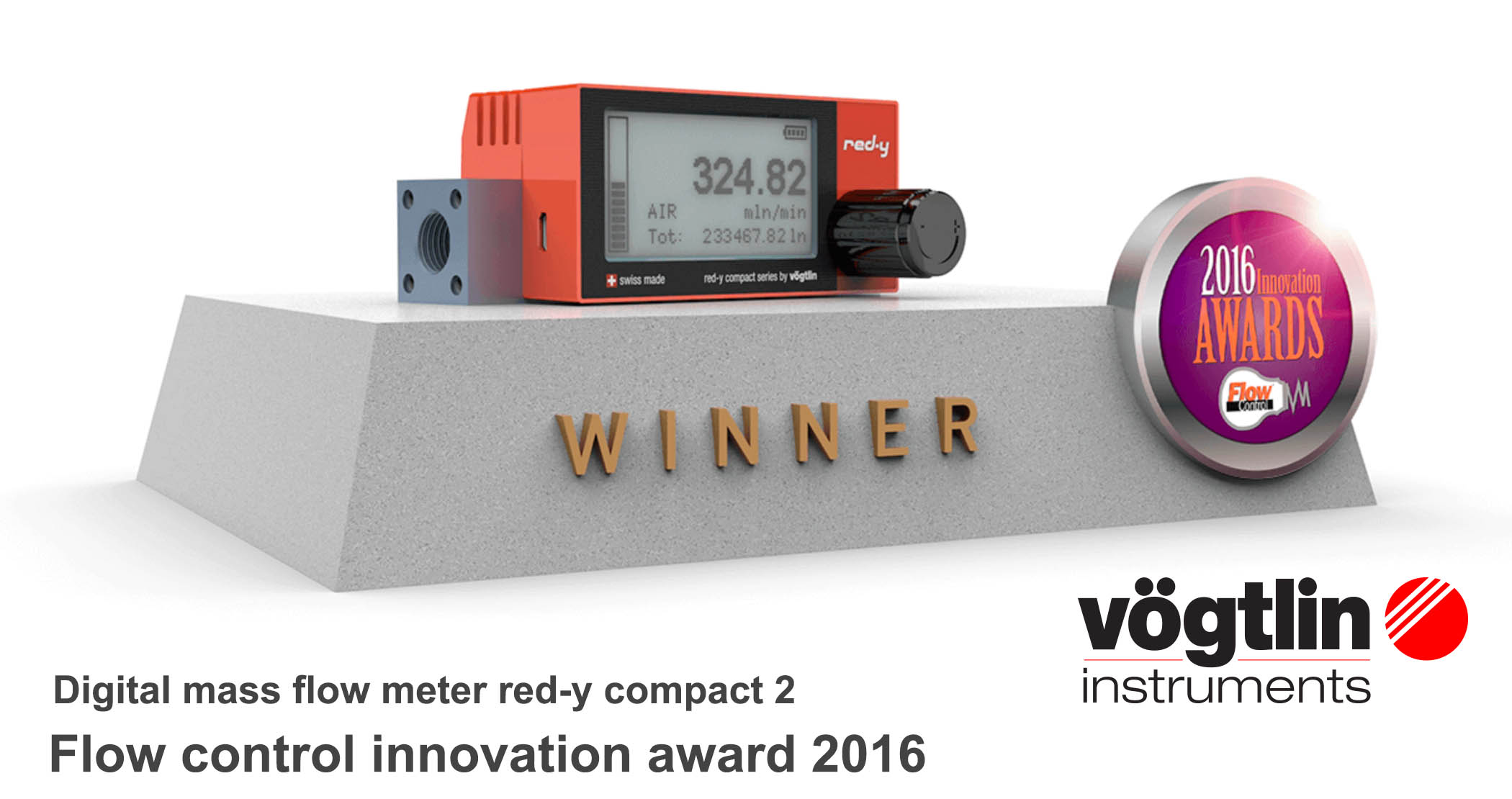 Red-y compact 2, Flow control innovation award 2016