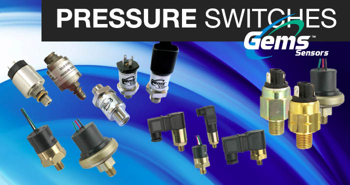 Pressure switches, Gems