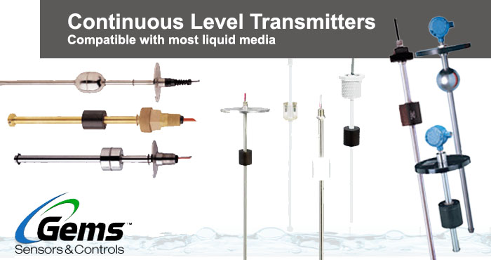 Gems continuous level transmitters