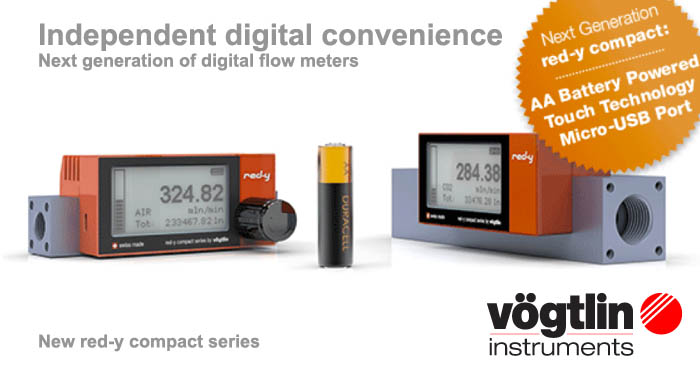 Digital flow meters, Voegtlin